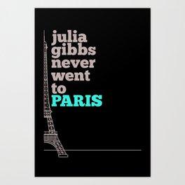 Julia Gibbs Art Print
