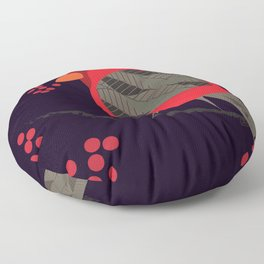 Cardinal Song Floor Pillow