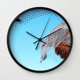 Palapa Luxury Wall Clock
