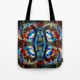 Keep forgetting that entrances are also the exits. Tote Bag