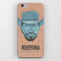 django iPhone & iPod Skins featuring Django by kjell