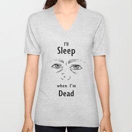 Sleep Deprivation Unisex V-Neck
