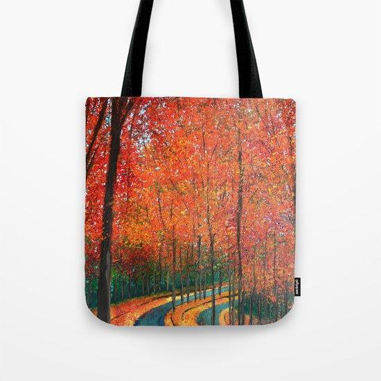 Beautiful colors of Autumn Tote Bag