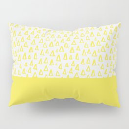 Triangles yellow Pillow Sham