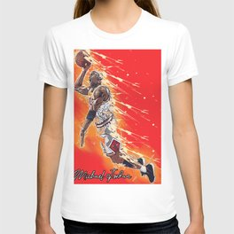 basketball player art 18 T-shirt