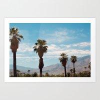 The San Jacinto Mountains No.4 (Palm Springs) Art Print
