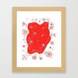 Atomic reversal Framed Art Print