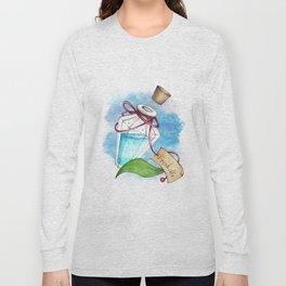 Drink Me Potion in Wonderland Long Sleeve T-shirt