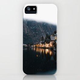 Hallstatt iPhone Case