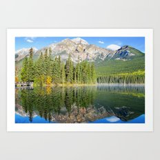 Pyramid Lake Art Print