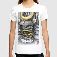 samurai T-shirts featuring Samurai by rchaem