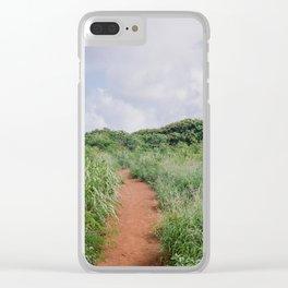 Path in Kauai Clear iPhone Case