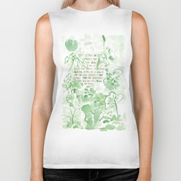 """""""Conquest of the Useless"""" by Werner Herzog Print (v. 2) Biker Tank"""