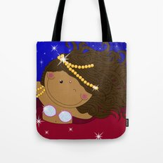 Ruby - Fun, sweet, unique, creative and very colorful, original,digital children illustration Tote Bag