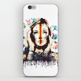 Drips of color iPhone Skin