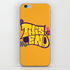 This is THE END iPhone & iPod Skin