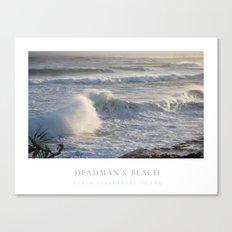 Deadman's Beach Canvas Print