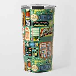 Reading and Writing Travel Mug
