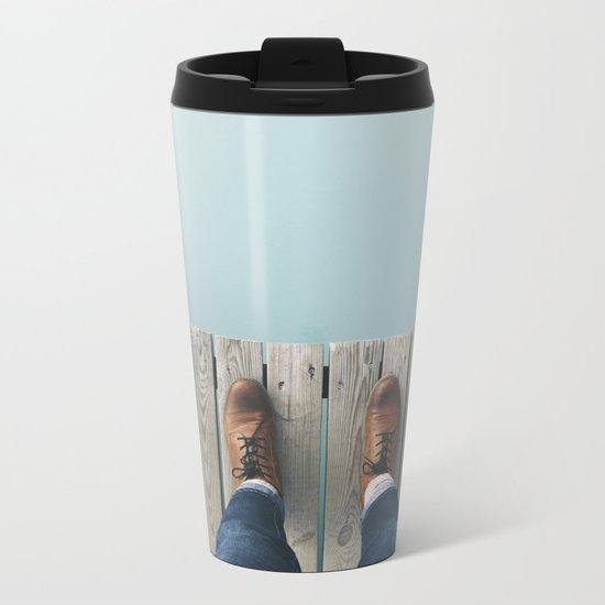Wanderboots Metal Travel Mug