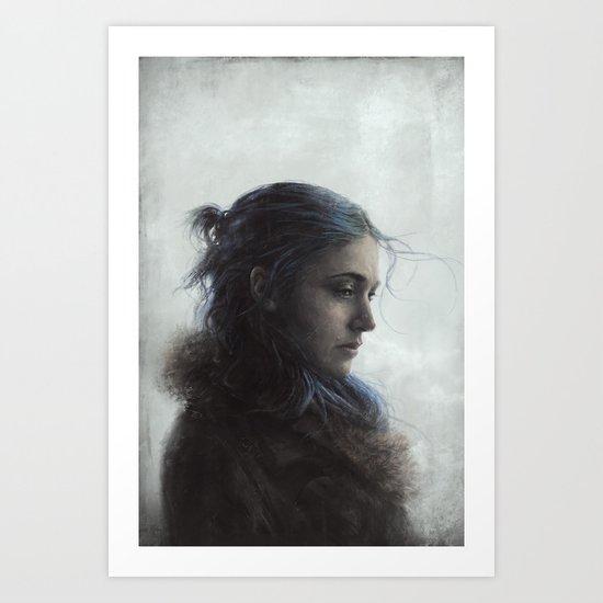 Clem Art Print
