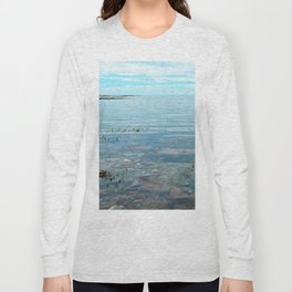 Looking Out to See The Sea Long Sleeve T-shirt