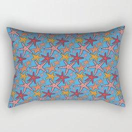 starfish pattern Rectangular Pillow