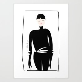 Style Spy Art Print