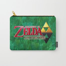 THE LEGEND OF ZELDA BW Carry-All Pouch