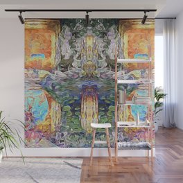 Cross of Time Wall Mural