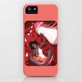 Breastfeeding and African-American Women iPhone Case