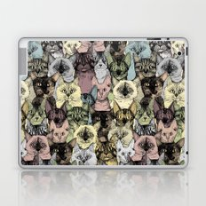 just cats retro Laptop & iPad Skin