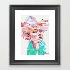 I Came to Earth to Haunt You Framed Art Print