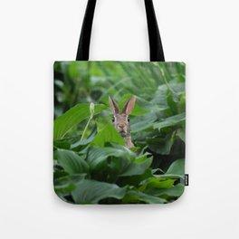 Garden Bunny Tote Bag