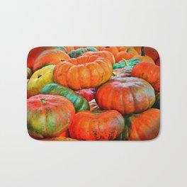 Heirloom Pumpkins Bath Mat