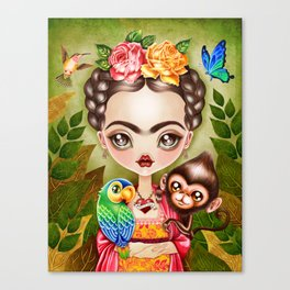Frida Querida Canvas Print