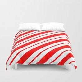 Peppermint Stripes Duvet Cover