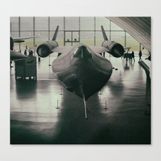 Lockheed Blackbird Canvas Print