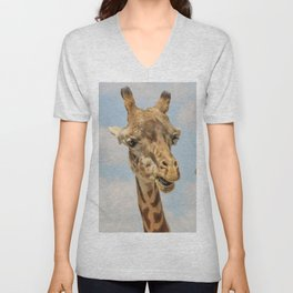 Giraffe Joe Unisex V-Neck
