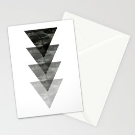 Geometric / Triangle Art Stationery Cards