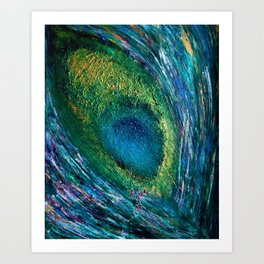 The Feather  Art Print