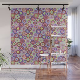 Millefiori-Coolio Colors Wall Mural