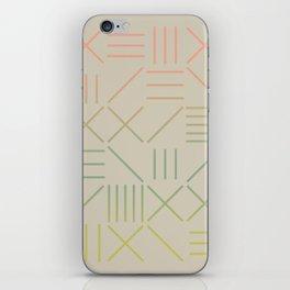 Geometric Shapes 11 Gradient iPhone Skin
