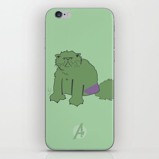 The Incatable Hulk iPhone & iPod Skin
