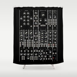 Modular Man Shower Curtain