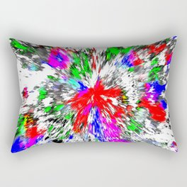 Artist Splash Rectangular Pillow