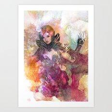 Majestra Art Print