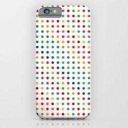 Colourful Dot Design iPhone Case