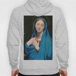 "Jean-Auguste-Dominique Ingres ""Virgin of the Adoption"" Hoody"