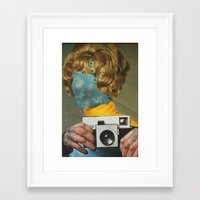 the flash Framed Art Prints featuring Flash by flores