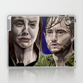 Abigail and Will, acrylic painting Laptop & iPad Skin